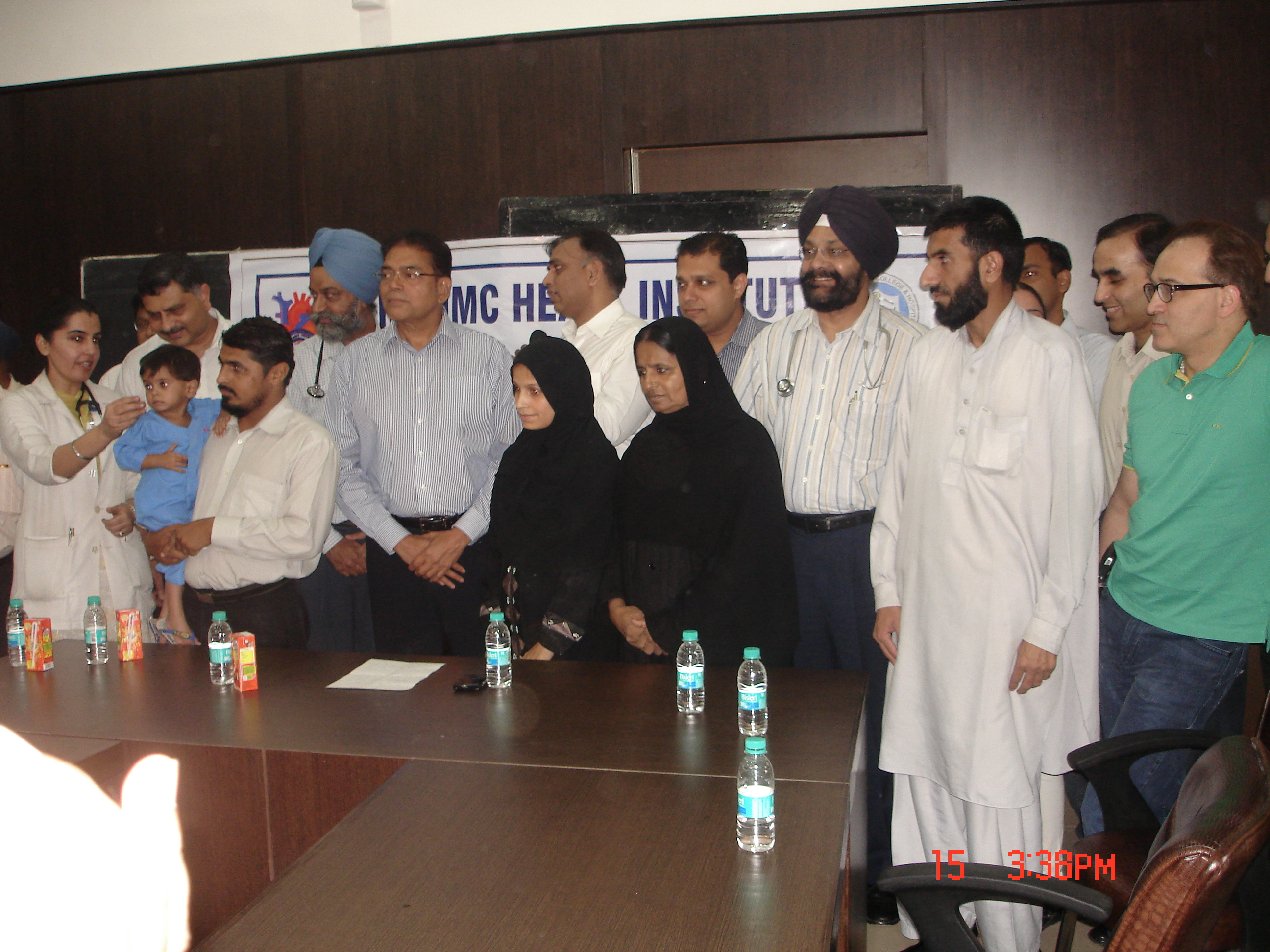 Heart Operation of Children from Pakistan at Ludhiana